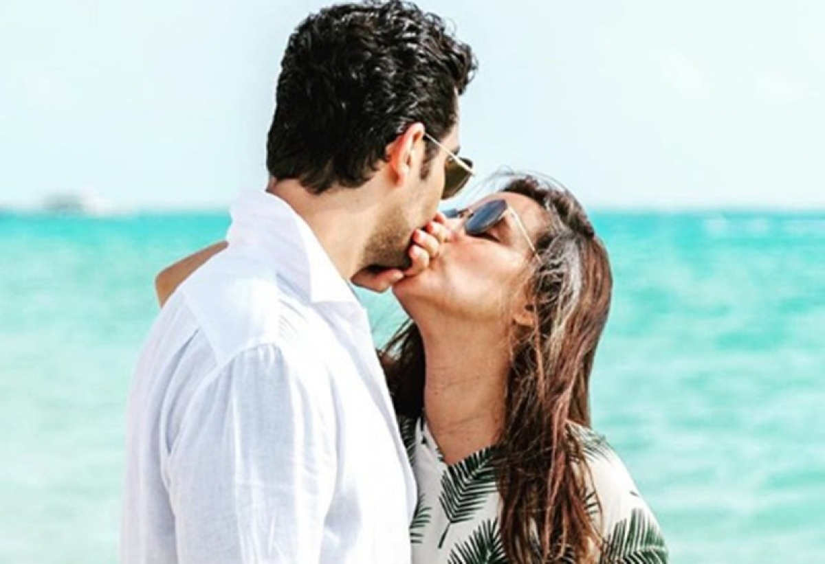 Angad Bedi shares adorable post on Neha Dhupia's birthday