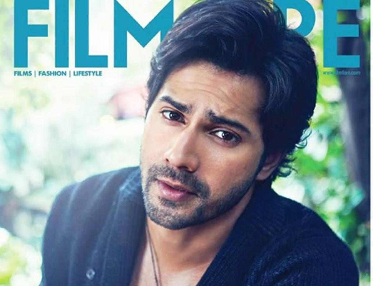 'Hero No. 1' Varun Dhawan poses for Filmfare magazine cover