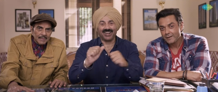 Yamla Pagla Deewana Phir Se trailer: Gear up for triple fun