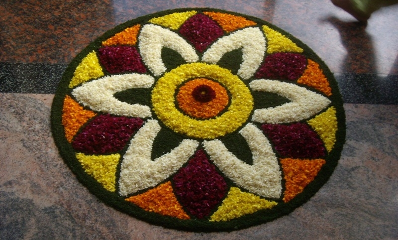 onam 2018  beautiful and easy pookalam designs to adorn