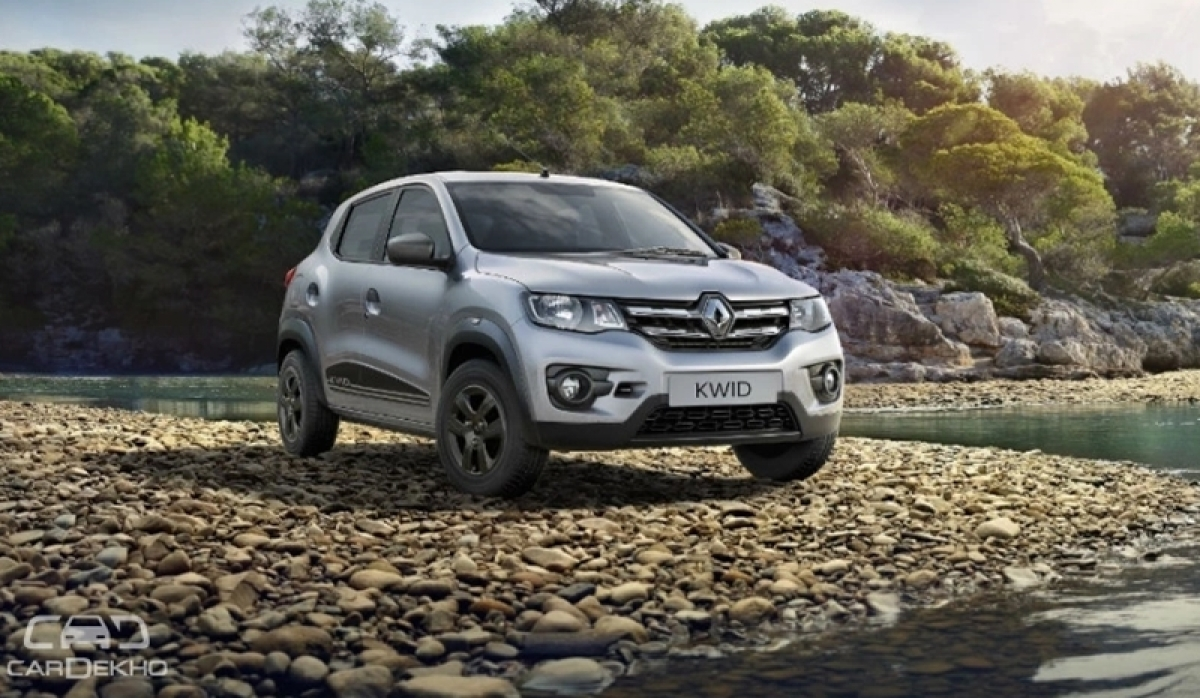2018 Renault Kwid Launched, Price Remains Unchanged