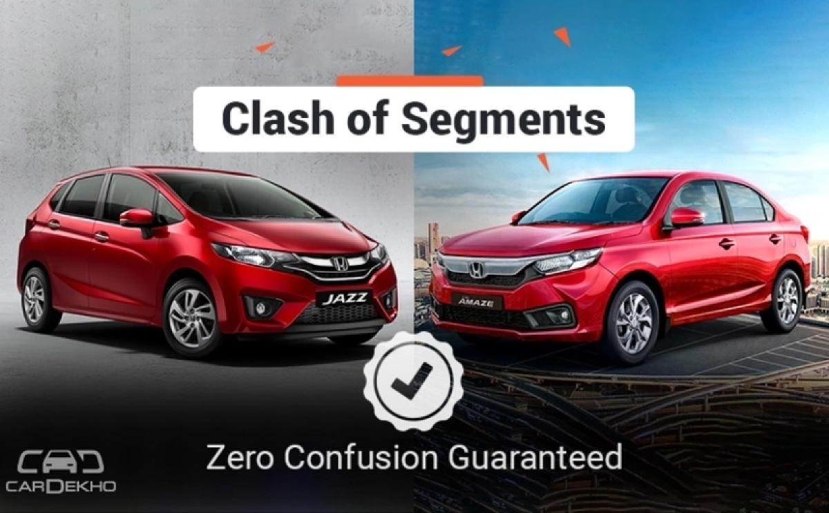 Clash Of Segments: 2018 Honda Jazz vs Honda Amaze – Which Car To Buy?