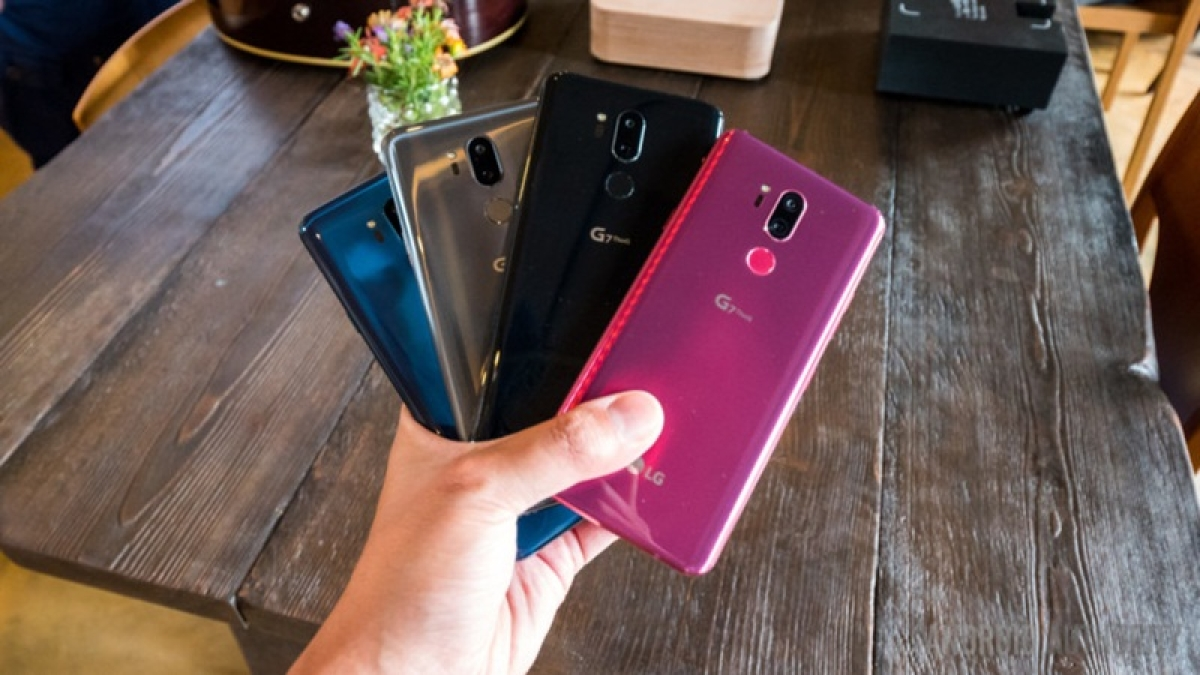 LG launches 'G7 plus ThinQ' with dual cameras in India