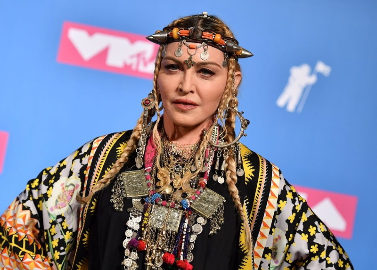 MTV VMAs 2018: Madonna pays tribute to soul singer Aretha Franklin
