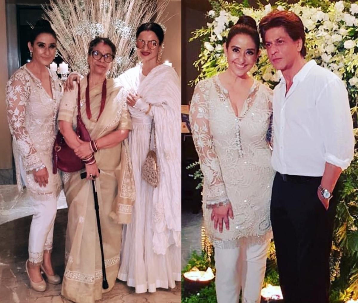 Inside Pics! Manisha Koirala celebrates 48th birthday with Bollywood biggies Rekha, Shah Rukh Khan and more