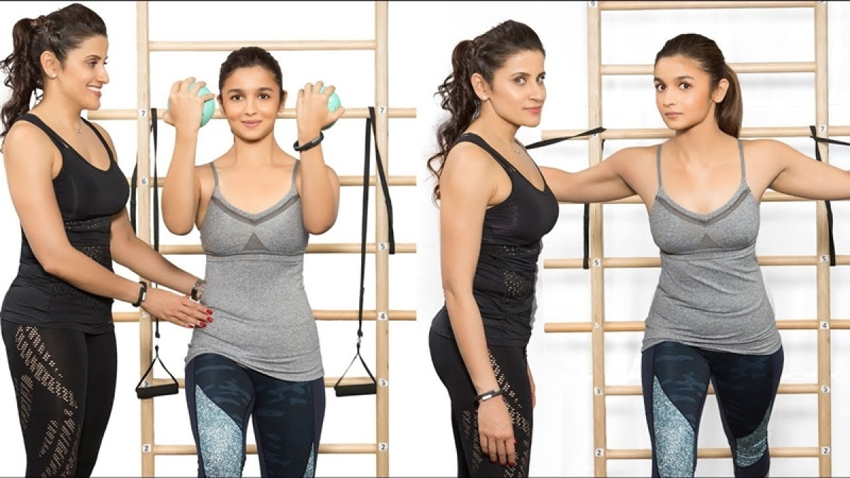 Check out Alia Bhatt's workout video to help you get over a tiresome Tuesday