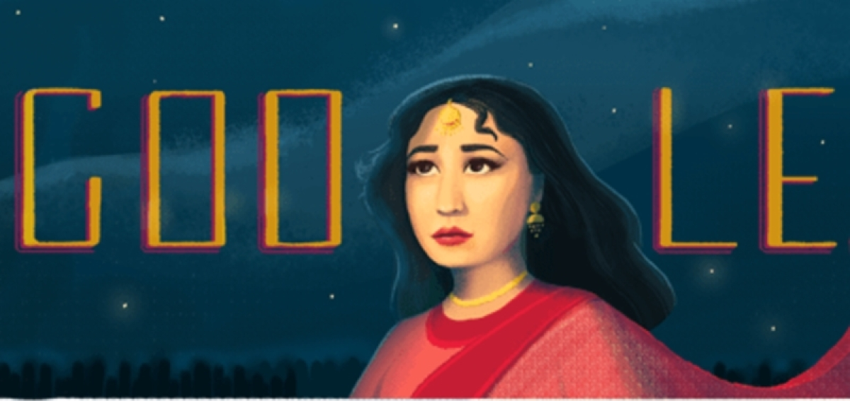 Google Doodle honours legendary actress Meena Kumari on her 85th birth anniversary