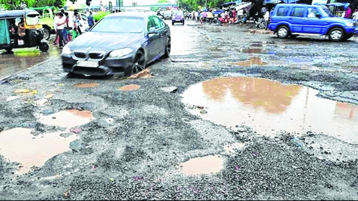 Potholes could bring Mumbai into the much-coveted record books