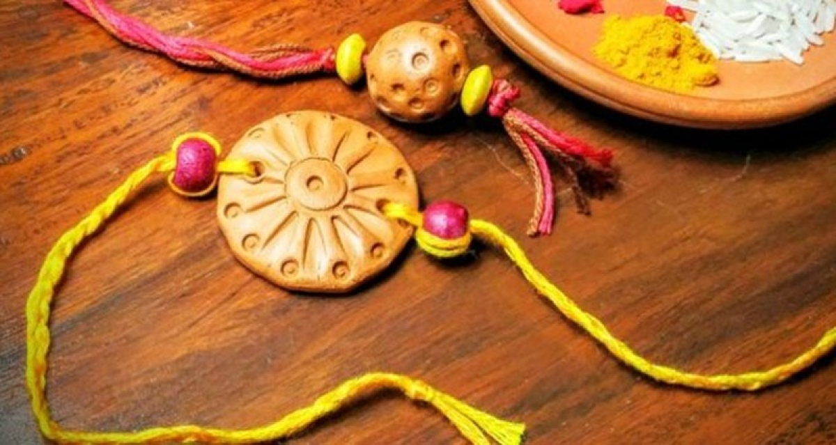 Plantable rakhis: A bond of love that will live on