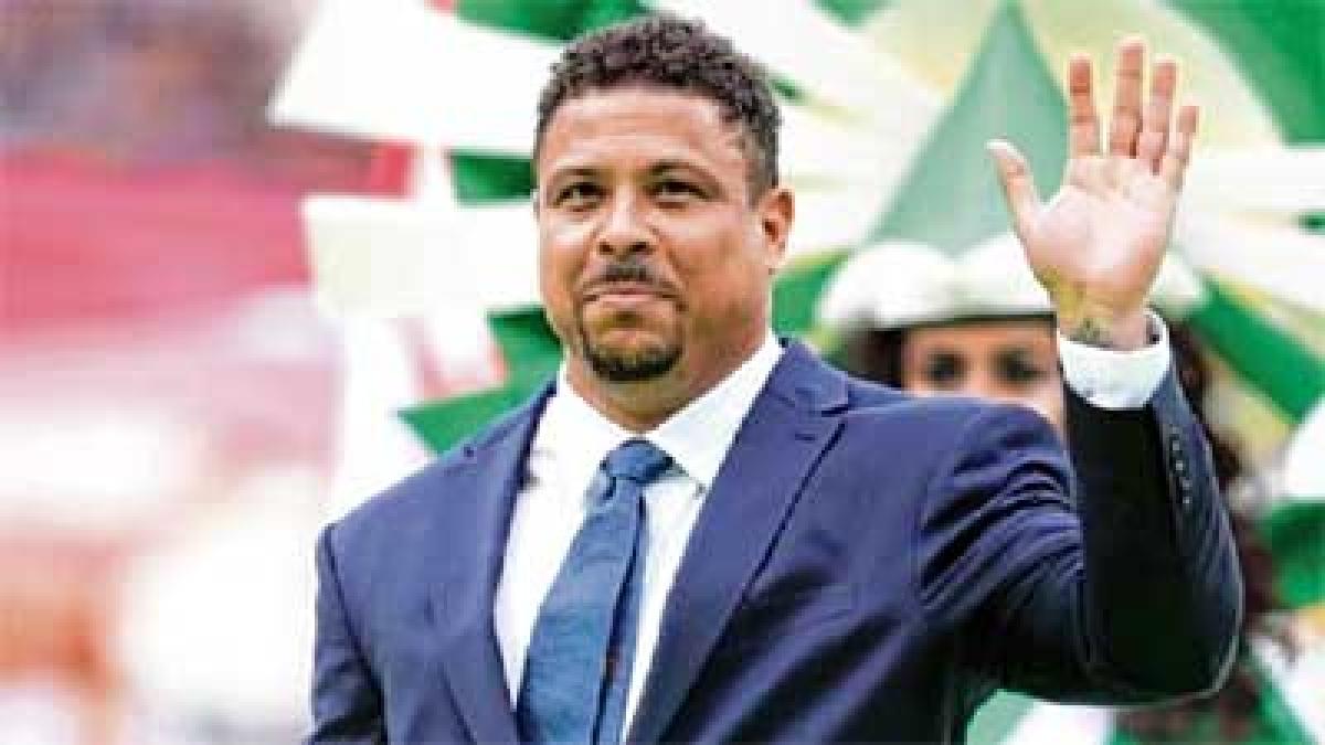Former Brazil striker Ronaldo hospitalized