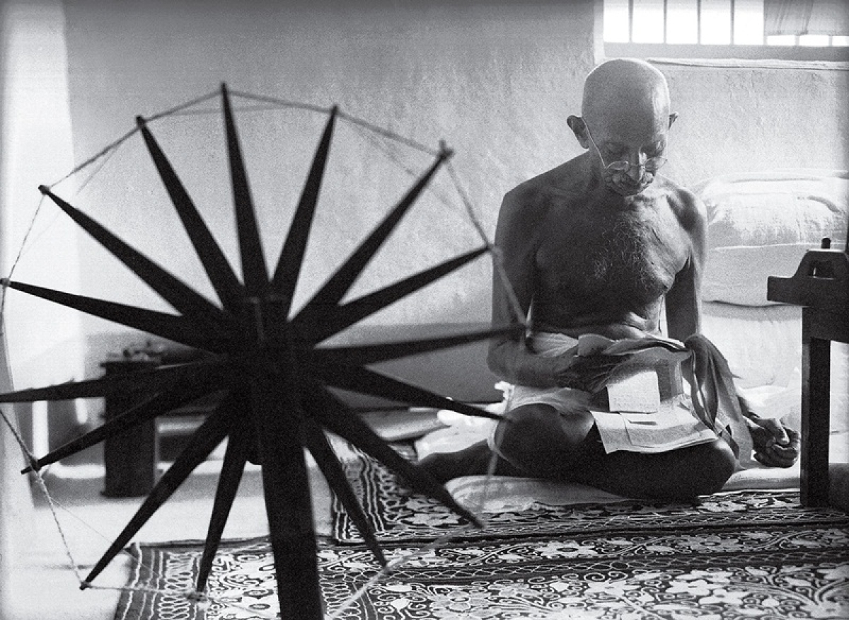 Mahatma Gandhi's letter about spinning wheel may fetch USD 5,000 at auction