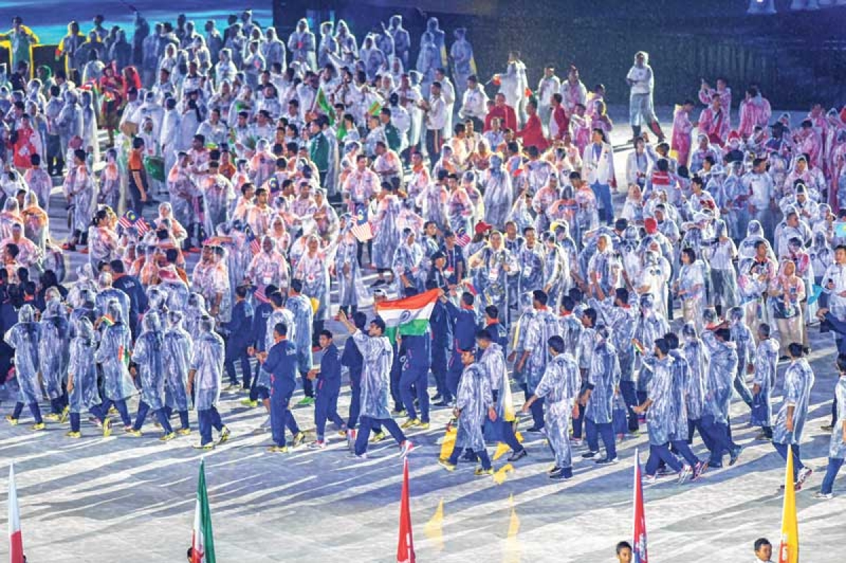 Asian Games : Indian contingent finish campaign on high