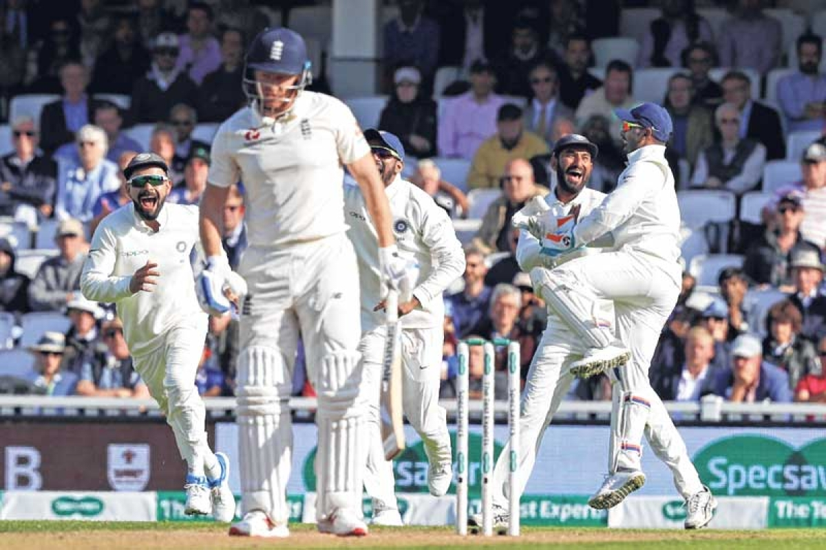 Ishant leads India's fightback after Cook's fifty in Fifth Test Match