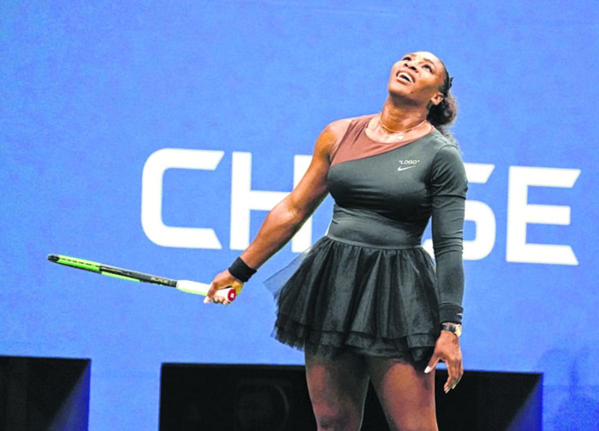 US Open: Serena Williams pays back Naomi Osaka
