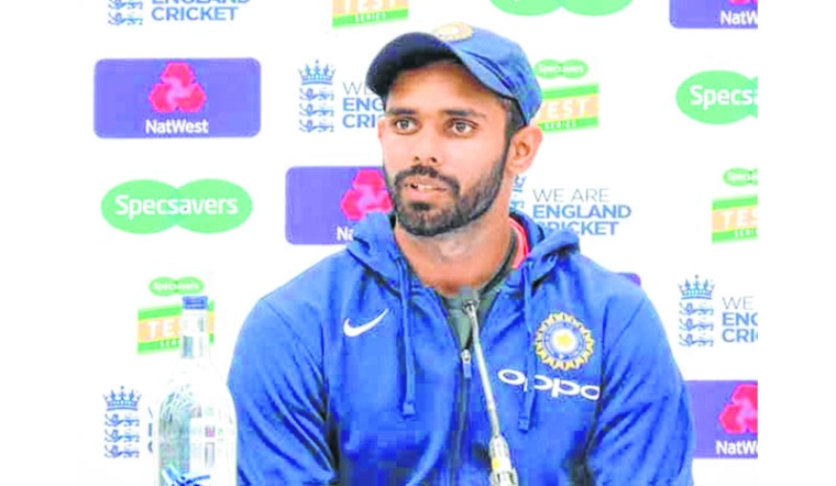 Speaking to Rahul Dravid eased my nerves: Hanuma Vihari