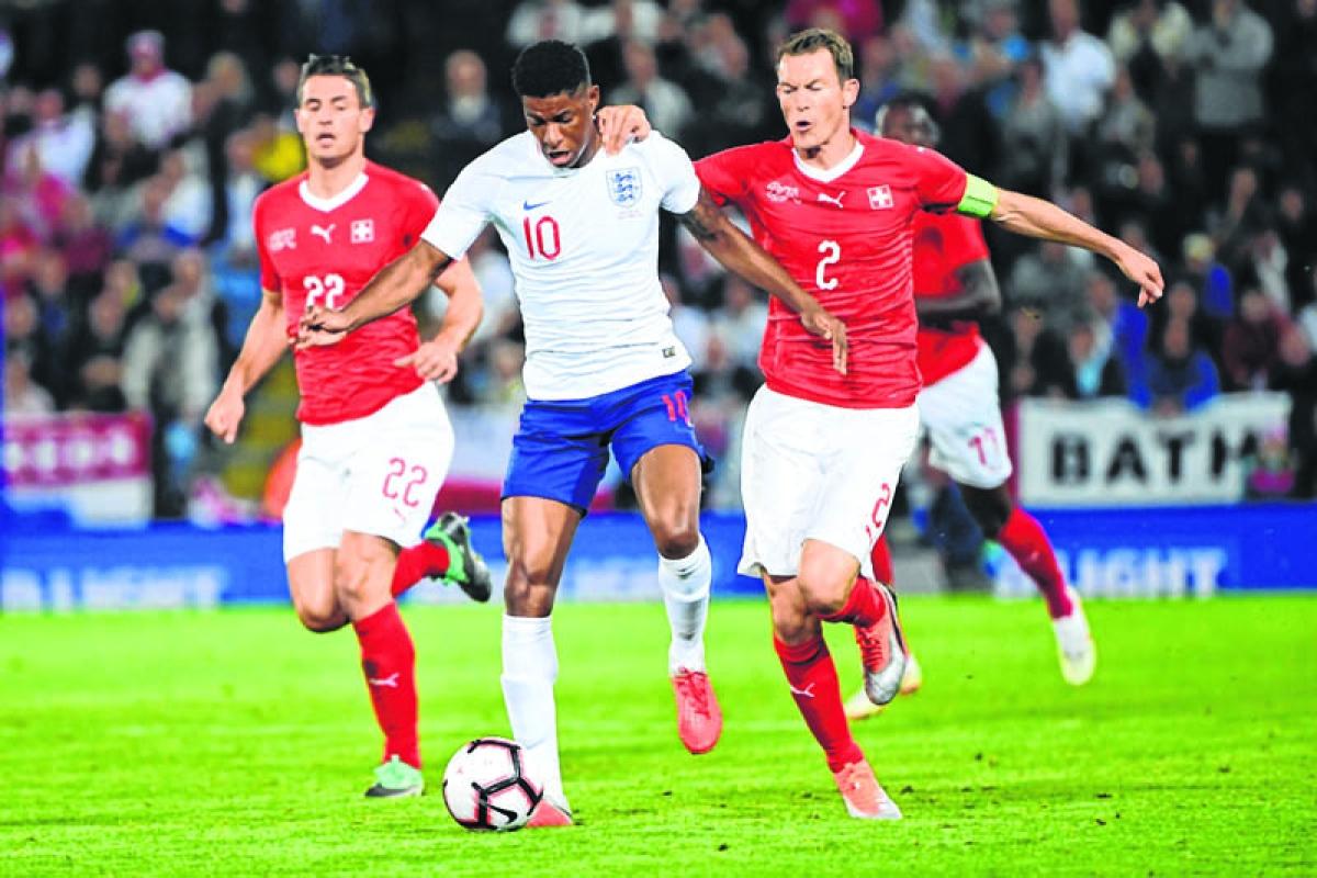 Nations League:Rashford goal  lifts England over Switzerland