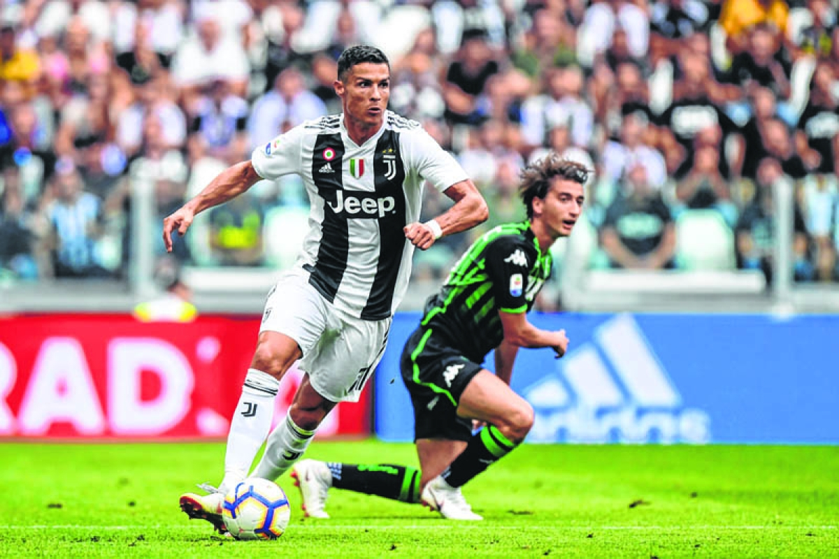 Ronaldo gets off the mark for Juve