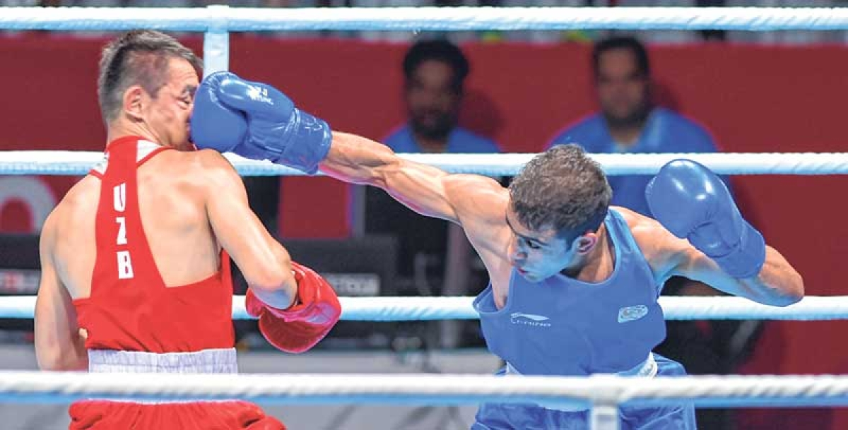 Asian Games : Gutsy Panghal ousts Olympic champ to claim India's only boxing gold