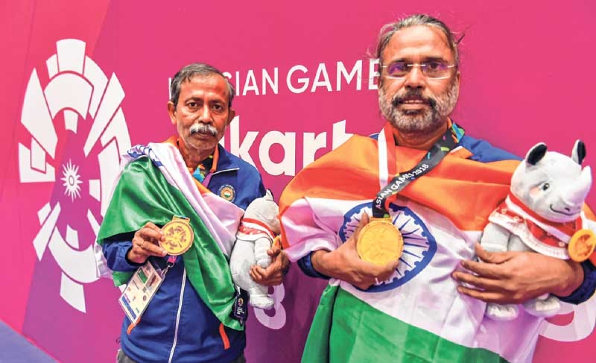 Asian Games : Pranab Bardhan, Shibhnath Sarkar win gold on bridge's debut