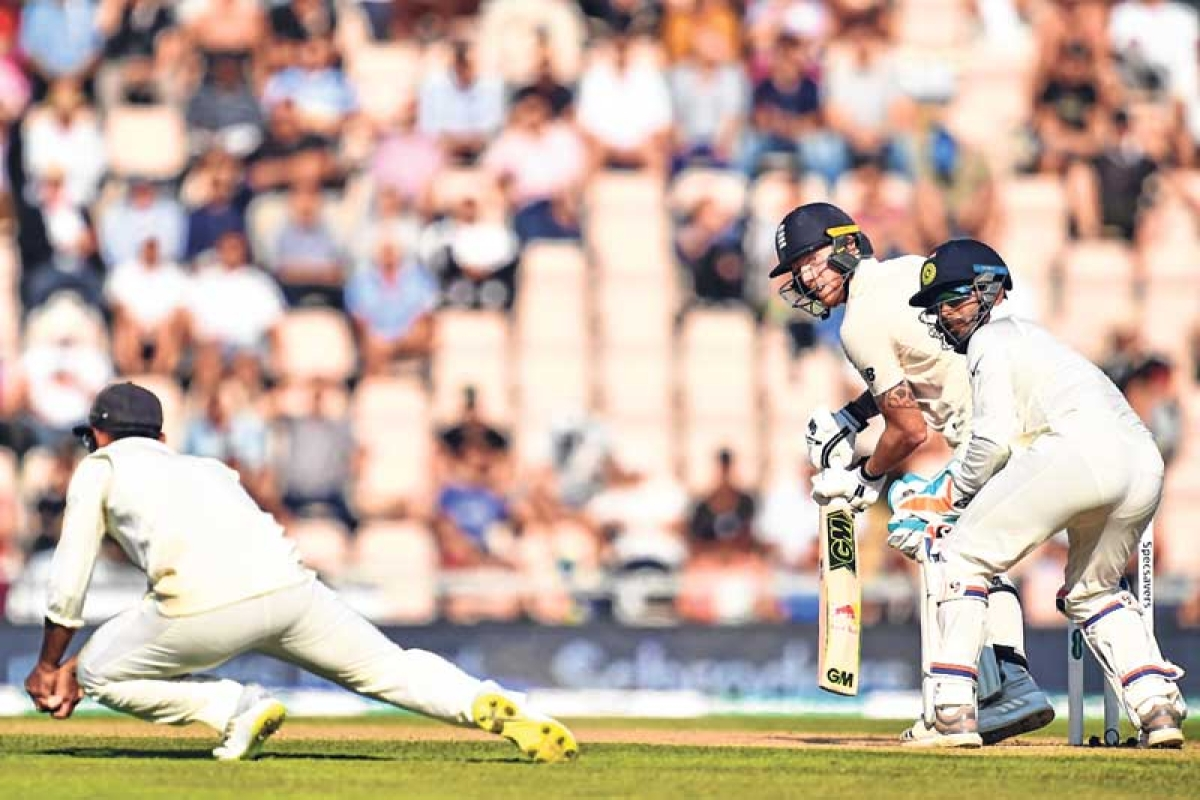 ENGLAND hold edge – Buttler scores 69 as hosts reach 260 for 8 on Day 3