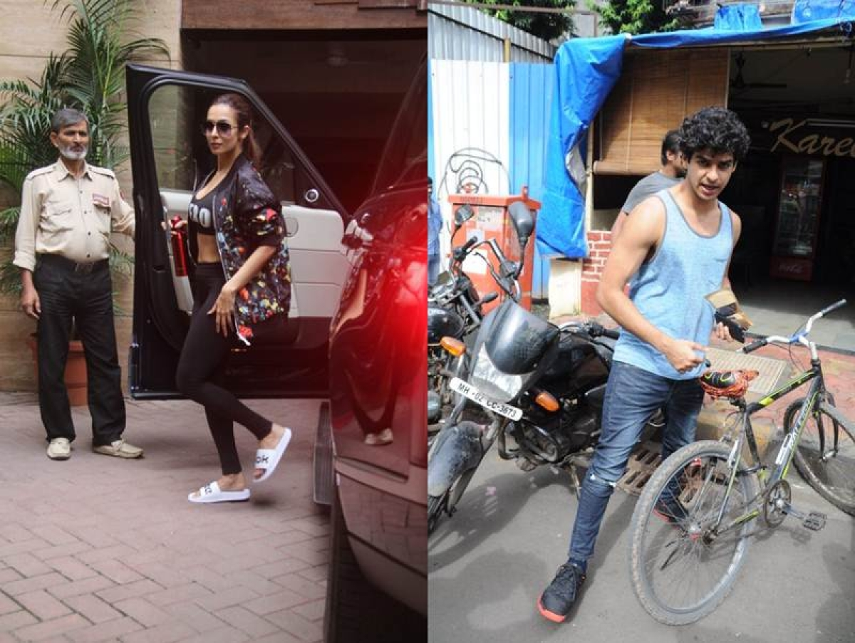 Paparazzi Alert! Have you seen these pictures of Malaika Arora and Ishaan Khattar today?