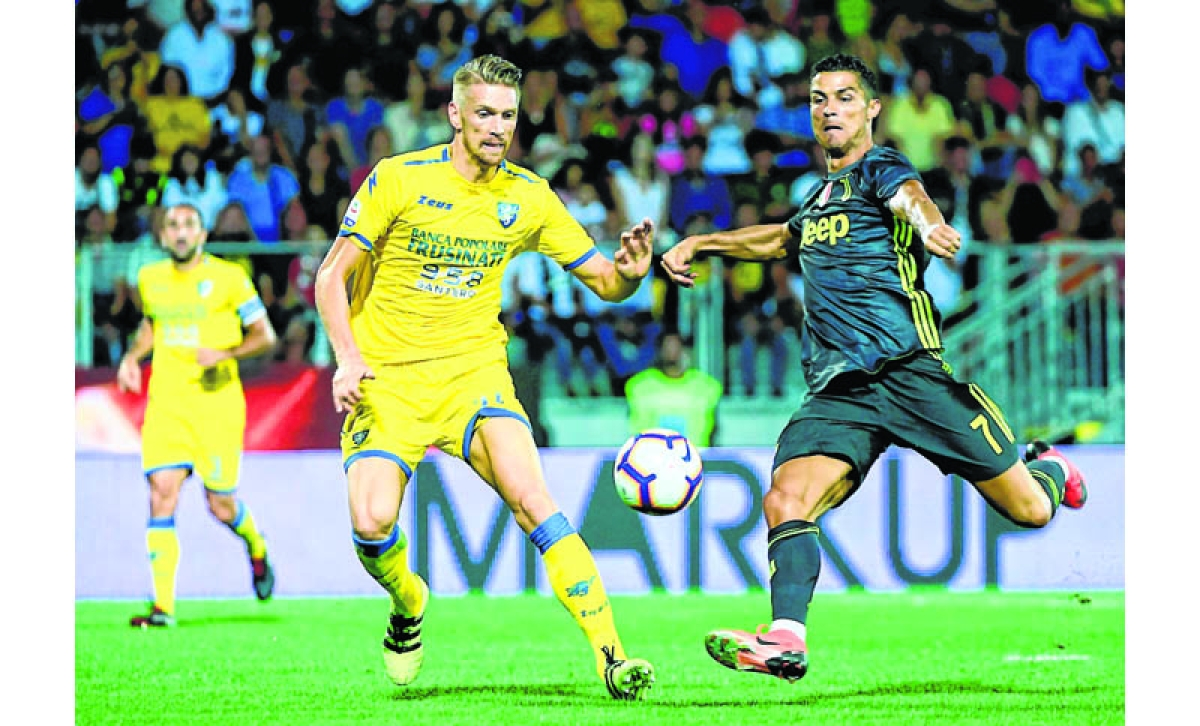 Ronaldo keeps Juventus perfect in Italian Serie A