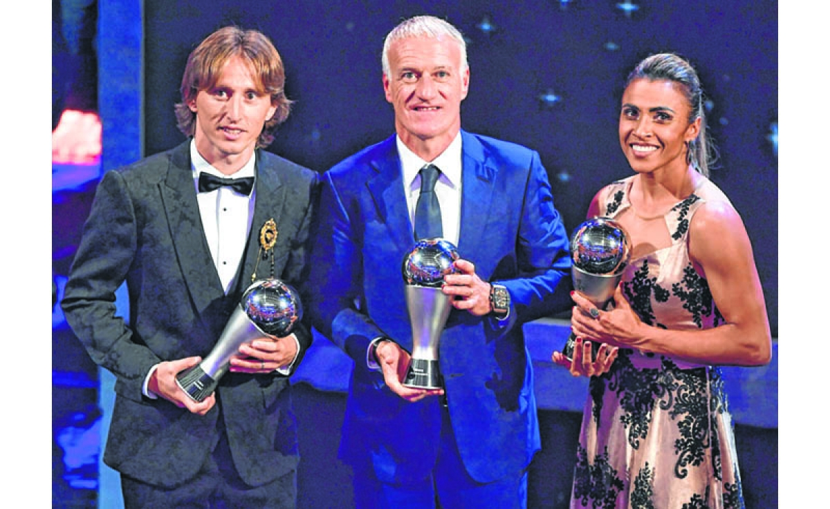 Luka Modric ends Ronaldo-Messi era to be crowned world's best