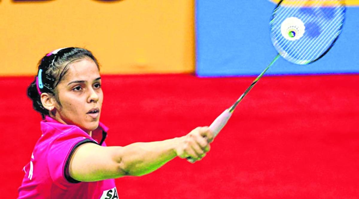 Saina Nehwal enters pre-quarters; Sameer, Vaishnavi lose