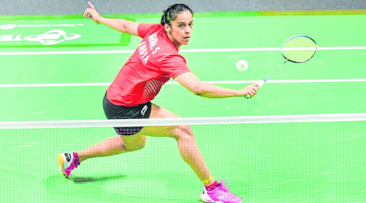 Saina Nehwal sailsinto quarter-finals