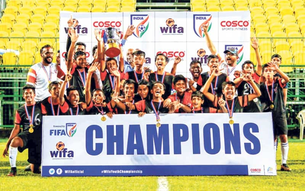 Pune City dethrone KMP XI for 2nd WIFA Youth Boys (U-14) Championship 2018-19 title
