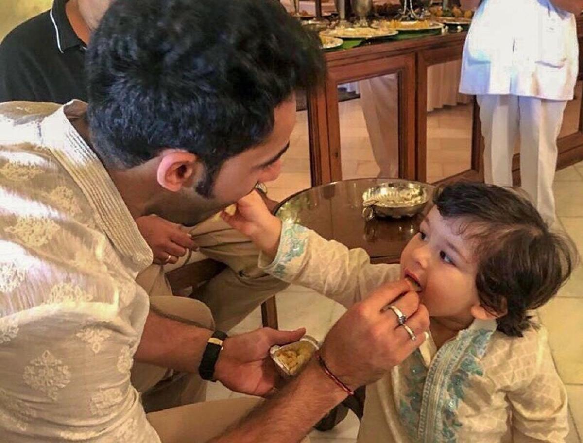 Kareena Kapoor Khan shares 'awwdorable' videos of Taimur celebrating Ganesh Chaturthi