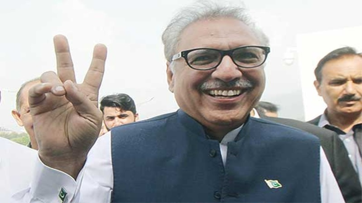 PTI candidate Arif Alvi elected as 13th President of Pakistan