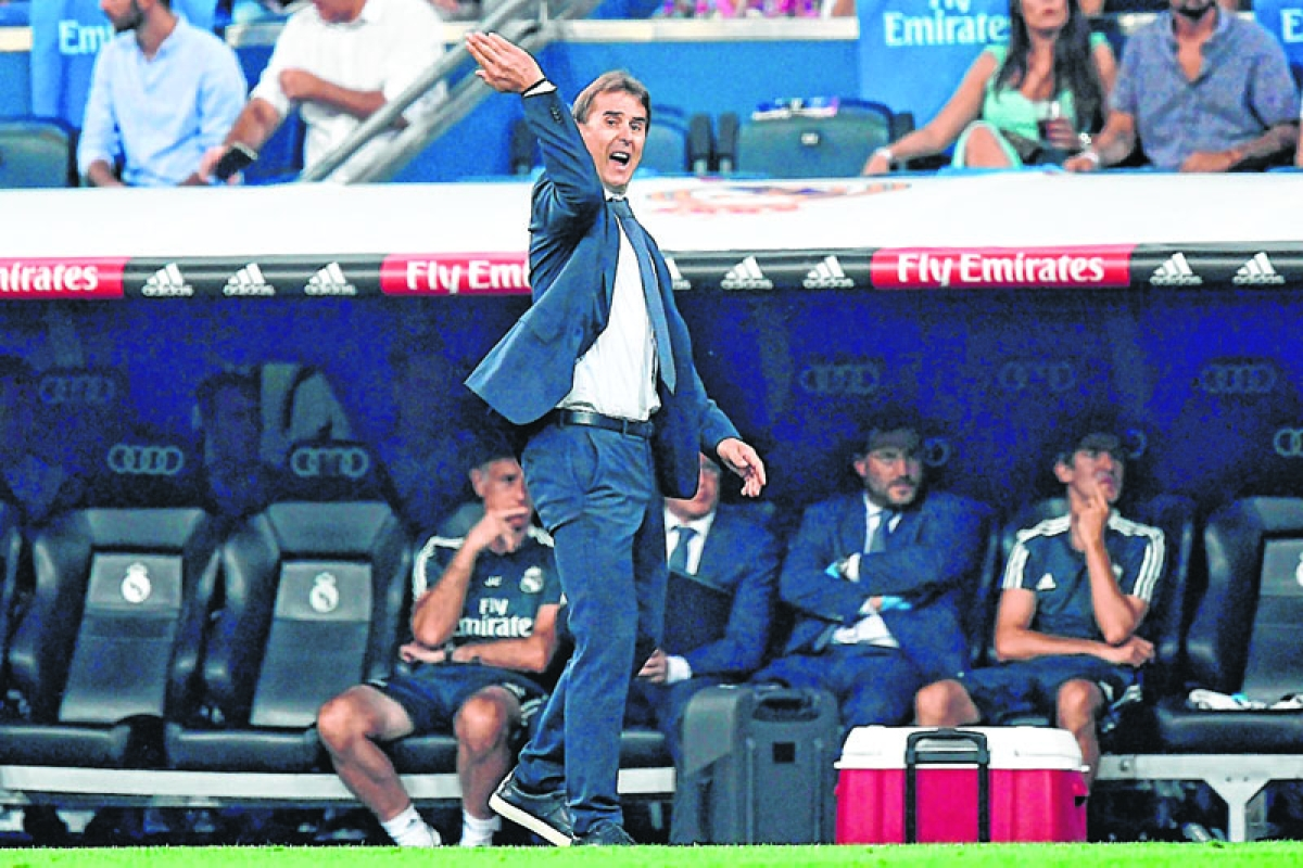 No regrets over leaving Spain team to join Real: Lopetegui