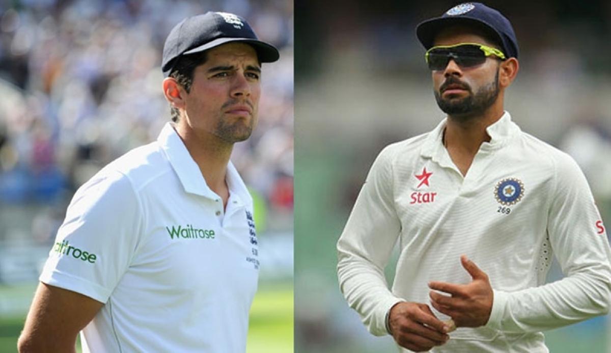 India vs England: Alastair Cook 'an example to love Test cricket', says Virat Kohli
