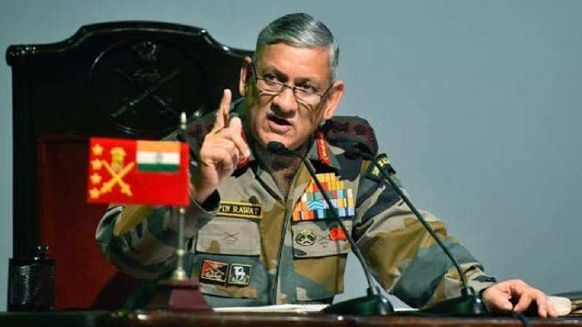 General Bipin Rawat named as India's first Chief of Defence Staff