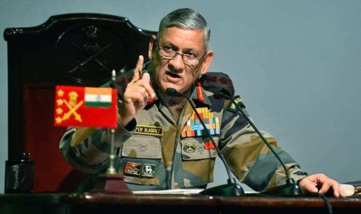 Situation along LoC can escalate any time, says Army Chief General Bipin Rawat