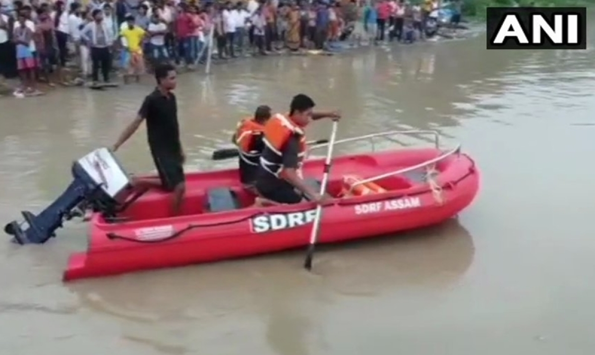 Assam: Many people missing after boat capsizes in Brahmaputra river, rescue operations on