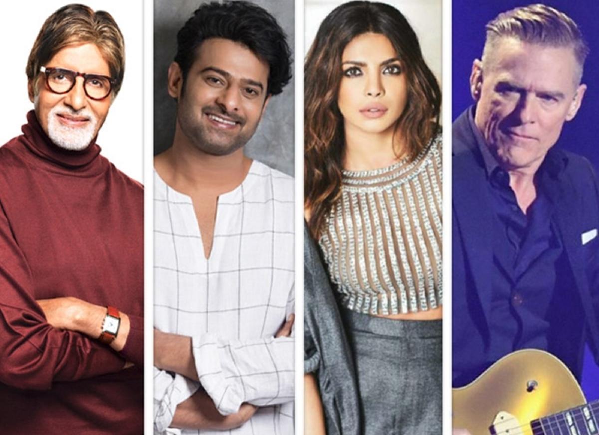 Amitabh Bachchan, Prabhas, Priyanka Chopra and other Bollywood celebs set to give a grand welcome to Bryan Adams
