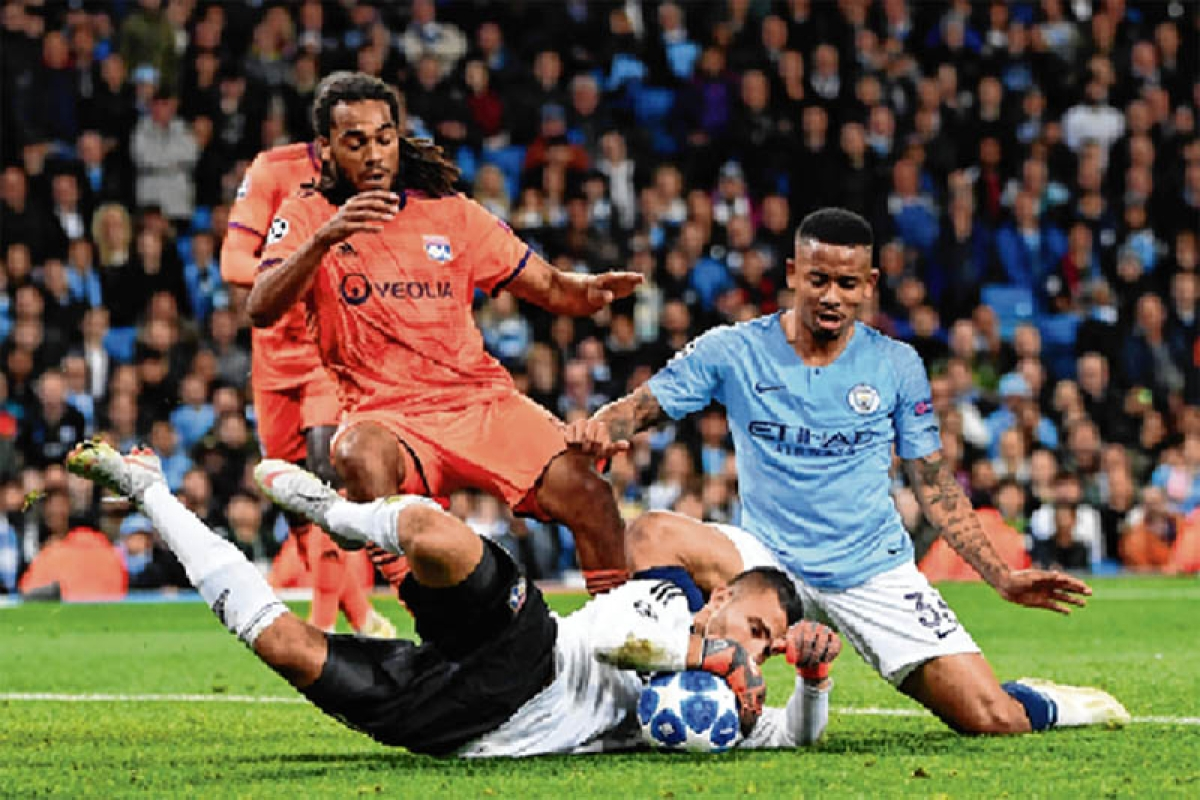 Man City suffer shock 2-1 home defeat to Lyon