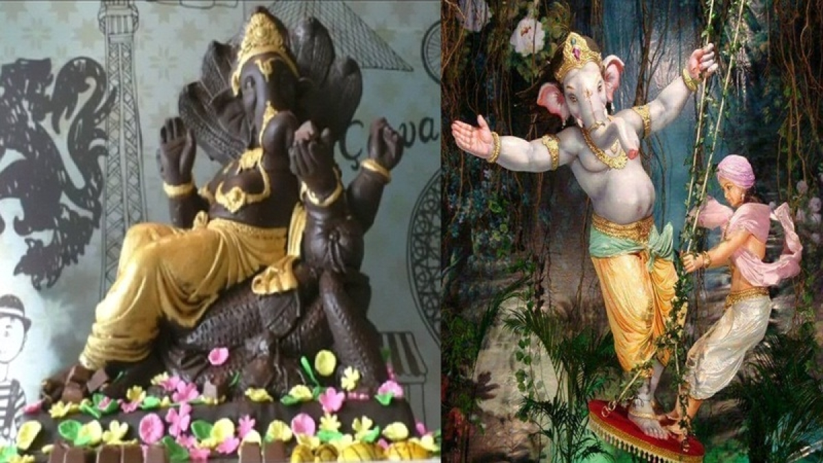 Ganesh Chaturthi 2018: From chocolates to SRK pose, these 8 offbeat Ganeshas will make your day