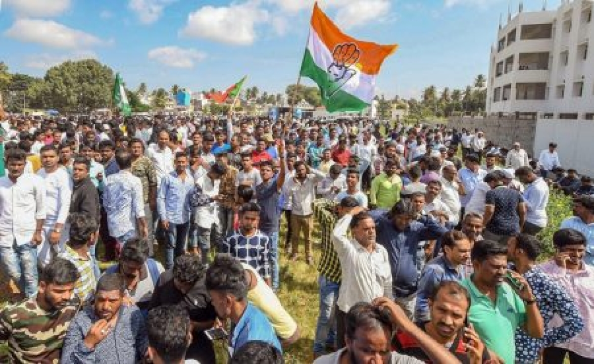Karnataka: Congress, JD-S make inroads in BJP urban pockets