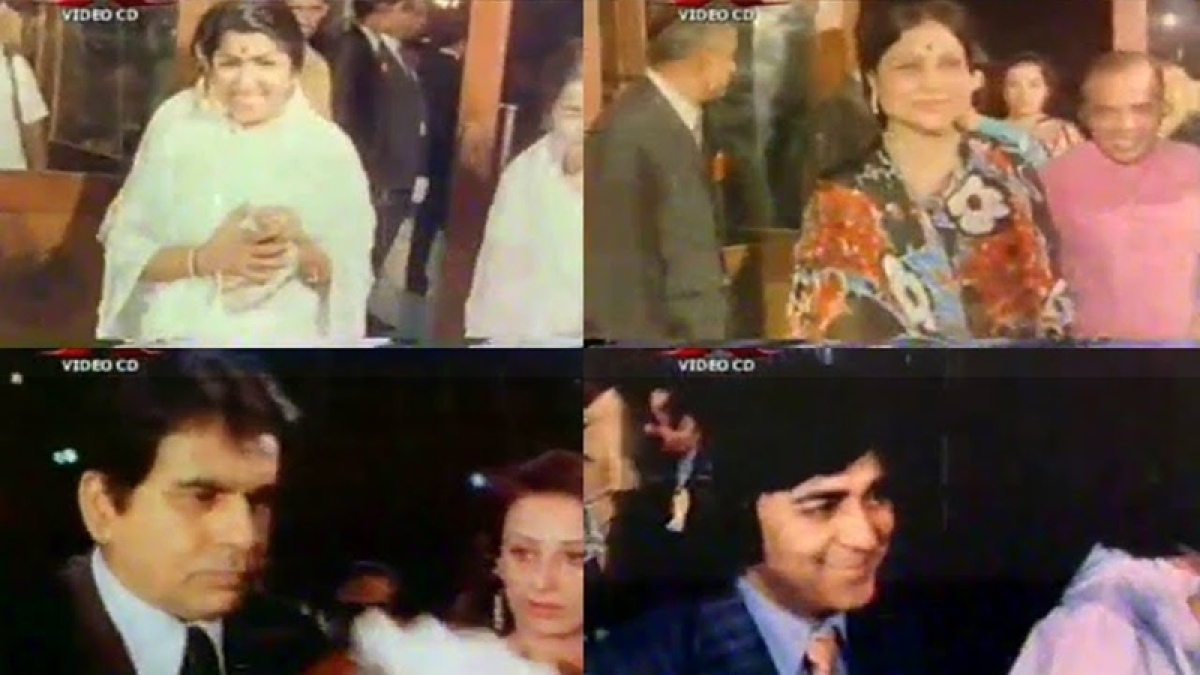 Blast from the past! Witness the star-studded night of Filmfare Awards 1973-74 with Dilip Kumar, Dev Anand, Kishore Kumar; watch video