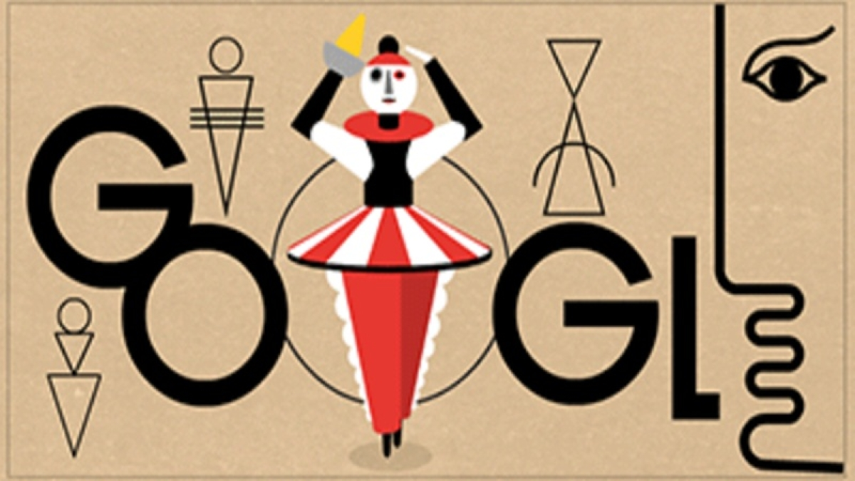 Google Doodle celebrates German artist Oskar Schlemmer's 130th birthday