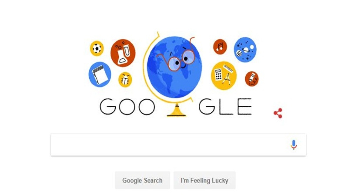 Google pays tribute to all teachers on Teachers' Day with animated doodle