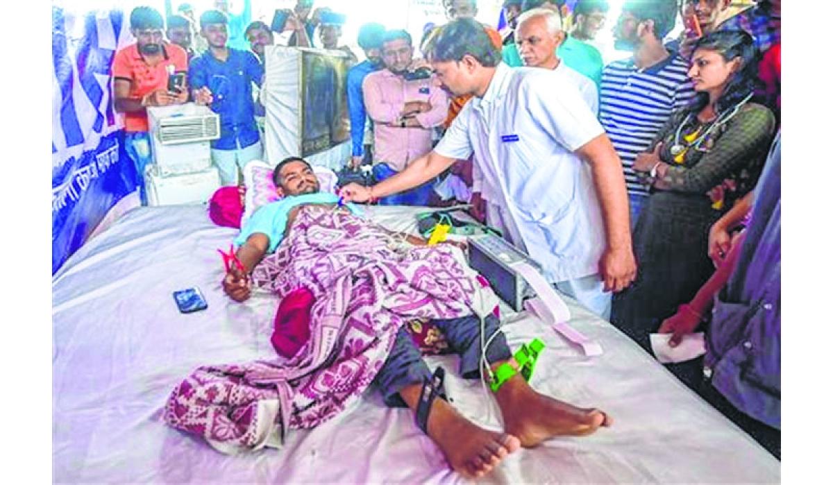 Govt denies charges of suppressing Hardik Patel
