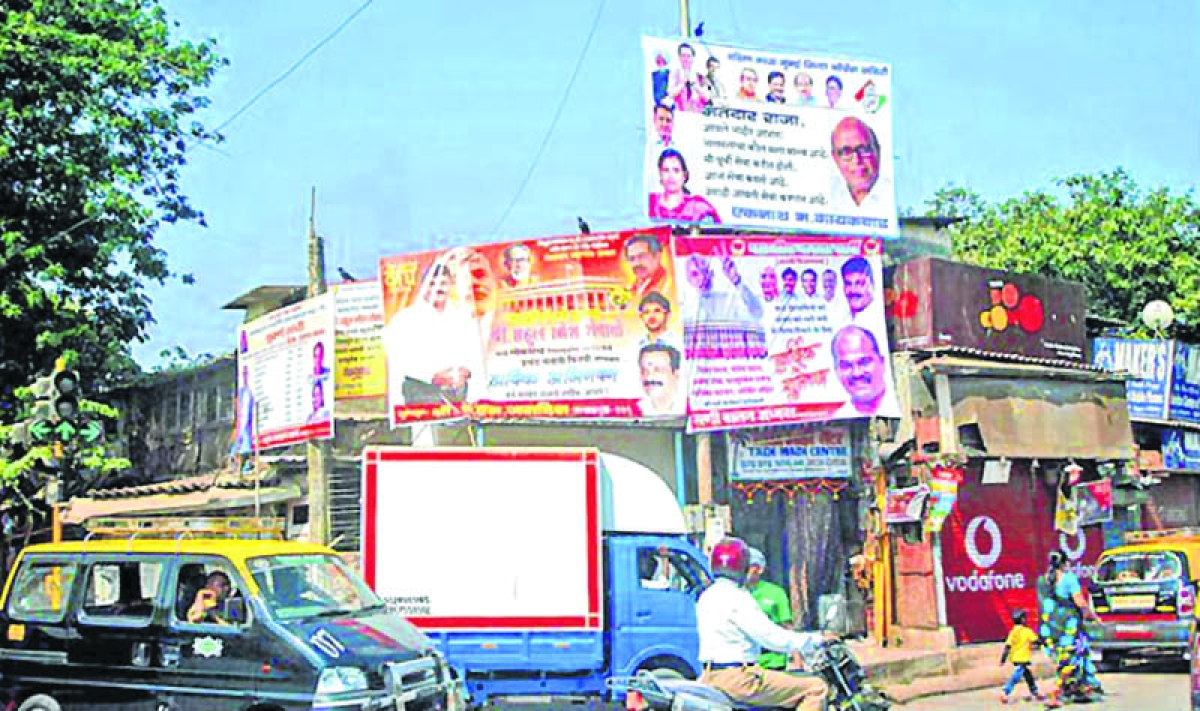 Illegal hoardings: Bombay High Court issues notices to NCP, BJP, RPI and MNS