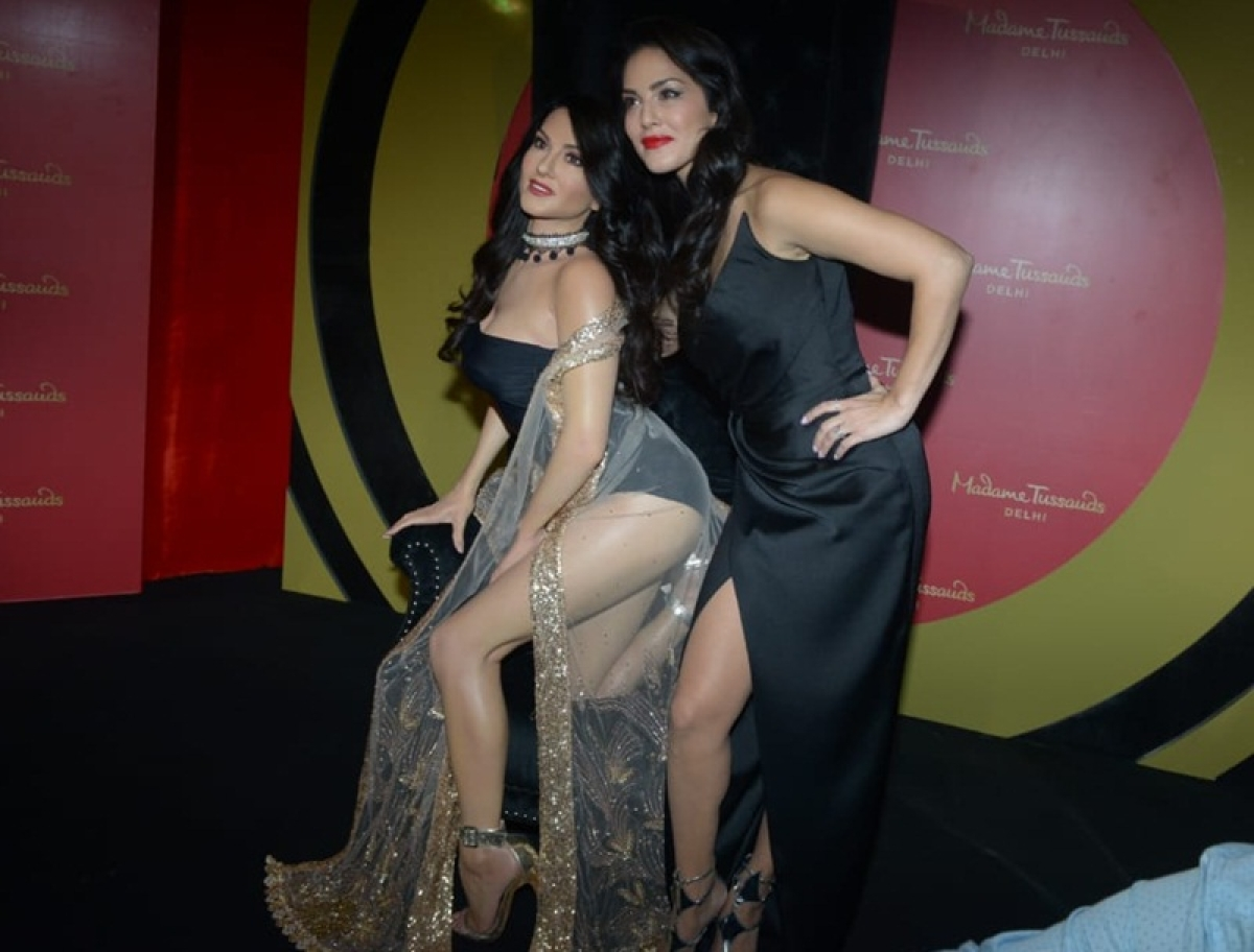 Sunny Leone unveils her wax figure at Delhi's Madame Tussauds museum; check out the pictures