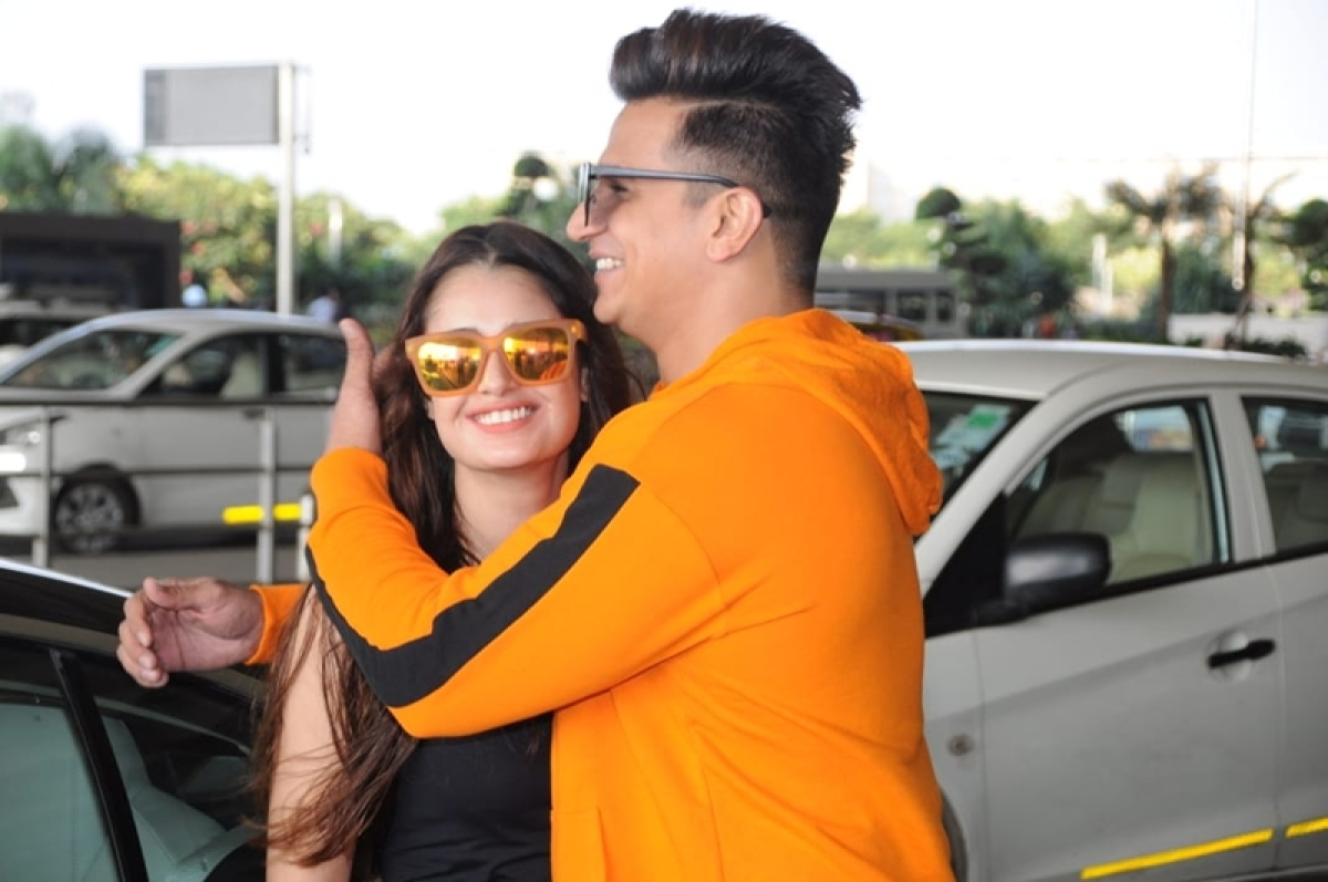 Clicked! These pictures of Prince Narula and Yuvika Chaudhary proves that they are made for each other