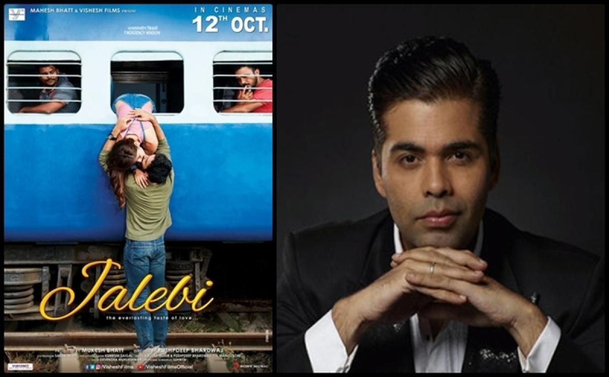 Karan Johar spellbound by the taste of Jalebi's melody; read tweet