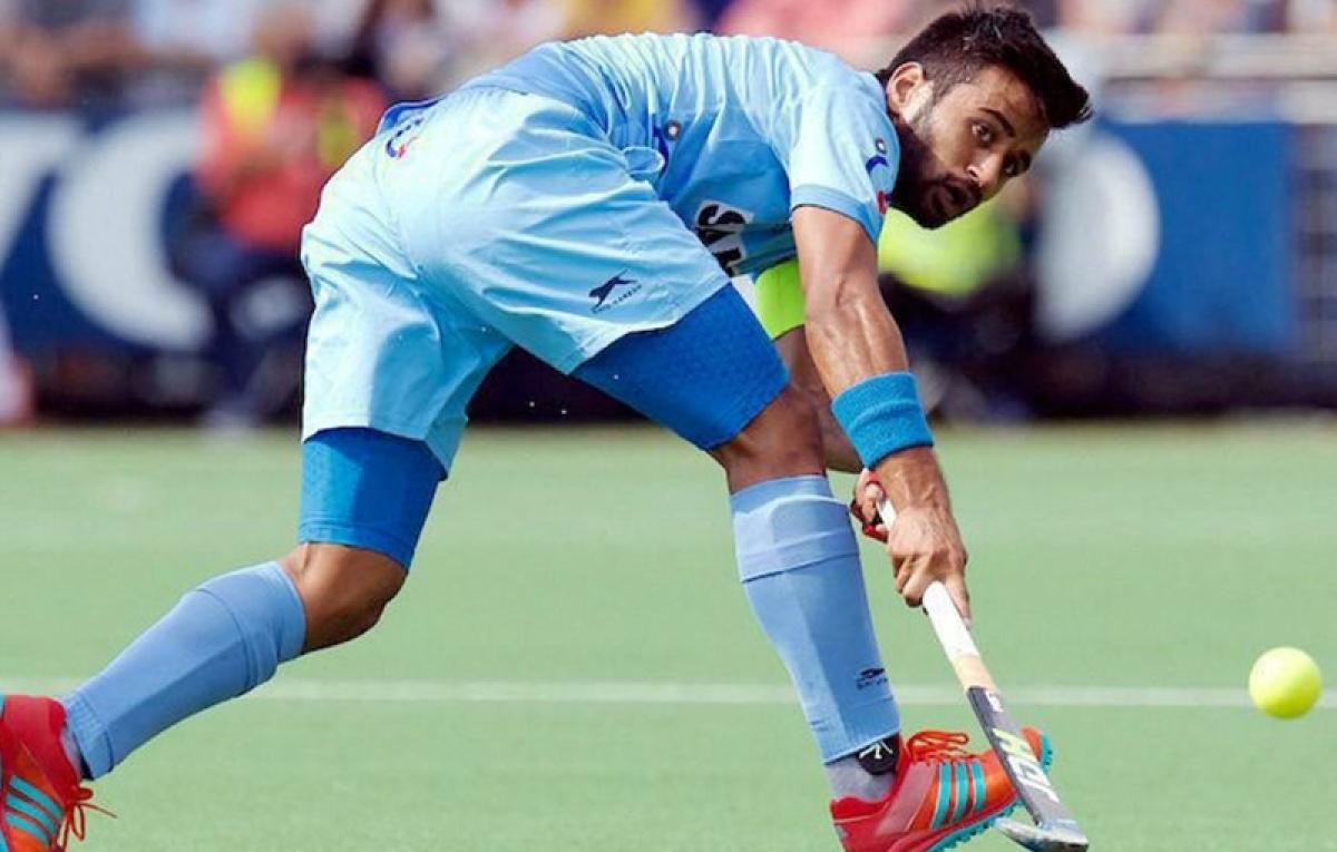 Manpreet Singh replaces PR Sreejesh as captain for Asian Champions Trophy